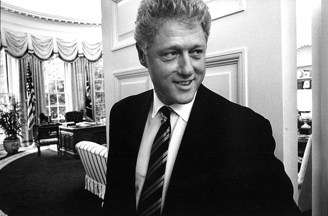 Portrait of President Bill Clinton